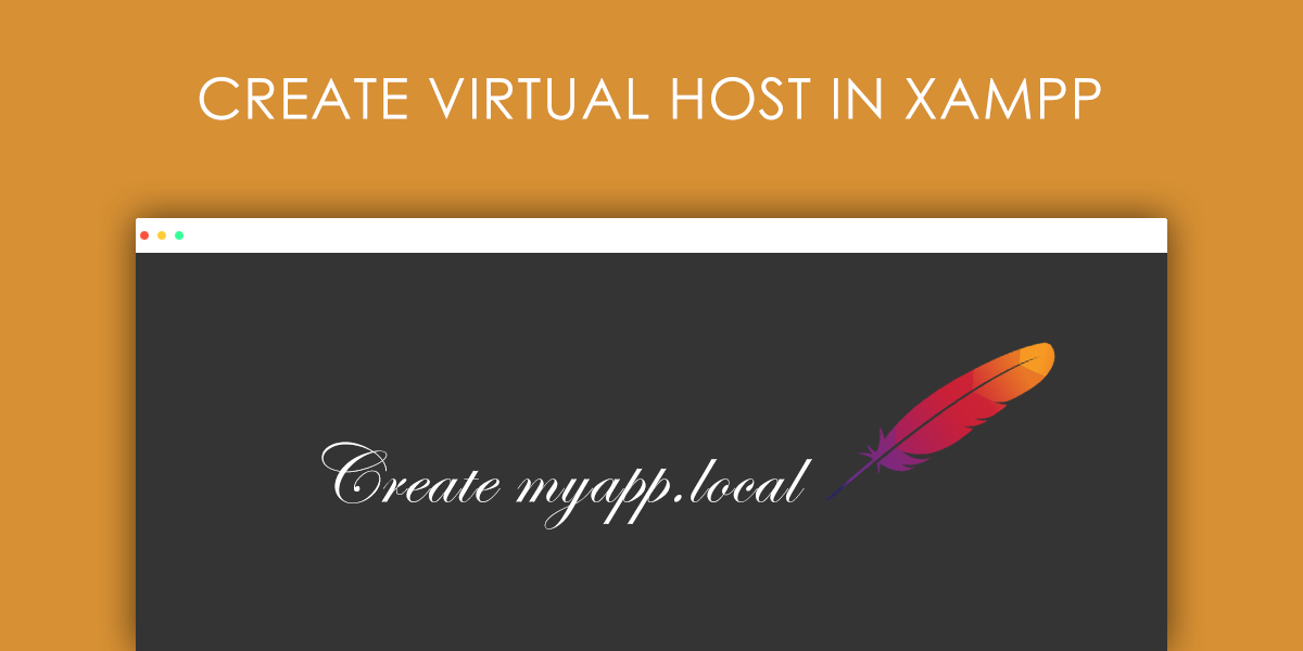 How to create virtual host in xampp on windows, mac and linux?